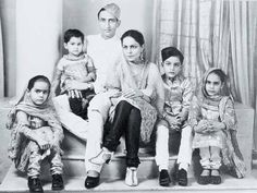 Iftikhar Ali Khan Pataudi with his wife Begum of Bhopal and their children by Rohit Sonkiya