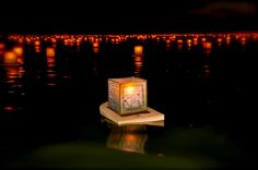Buddhist Lantern Floating in Honolulu, HI