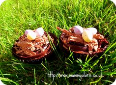 Quick and Easy Easter Egg Cupcake recipe