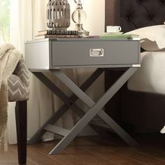 Found it at Wayfair - Marotta 1 Drawer End Table Flat Shapes, All Modern, Modern Living, Modern Contemporary, End Tables, Bedside Tables, Bedroom Furniture, Furniture Decor, Outdoor Furniture