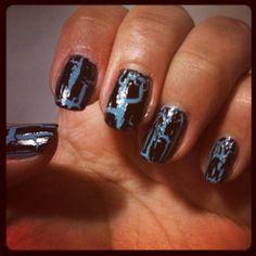 I have this Crackel nail polish