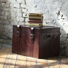 Leather Trunk from notonthehighstreet.com