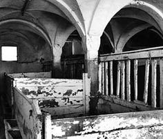 #Black #White picture from #medieval #barn of  #Castle #Möhren #Bavaria #Germany #Schloss #Moehren