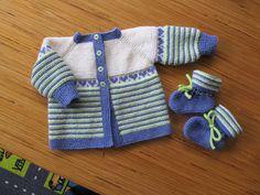 Ravelry: Project Gallery for garter yoke baby cardi pattern by Jennifer Hoel
