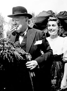 Winston Churchill in Missouri, 1946