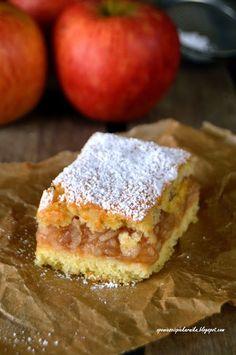 Apple Cake Recipes, Delicious Cake Recipes, Yummy Cakes, Polish Desserts, Polish Recipes, Cranberry Orange Bread, Cinnamon Roll Pancakes, Mini Pies, Food Cakes