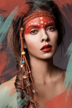 Fotografía Native American Beauty por Michelle Monique en 500px