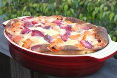 In Erika's Kitchen: Pluot clafoutis recipe