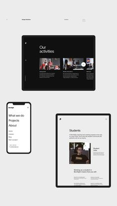Bornfight — Digital Innovation Company on Behance Minimal Web Design, Webdesign Inspiration, Web Inspiration, Interface Web, User Interface Design, Innovation, Page Design, Ui Design, Graphic Design