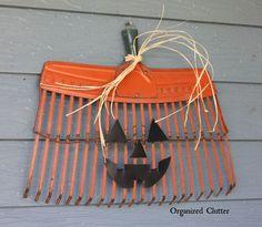 Rake Head Pumpkin/Jack O'Lantern
