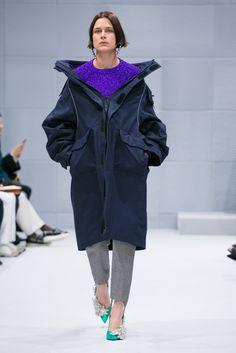Demna Gvasalia's debut collection for Balenciaga.
