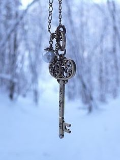 a key AND snow!