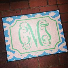 Diamonds Doormat from Haymarket Designs