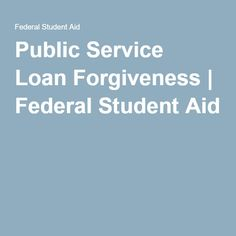 They allot you a certain payment for the first few years based on your income, but after 10 years, the rest of your student loan debt is forgiven! How great is that!
