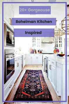 20+ Gorgeouse Boheiman Kitchen Inspired Design #bohemiankitchenideas Bohemian Kitchen, Rustic Kitchen, Kitchen Decor, Kitchen Cabinets, Design Inspiration, Inspired, Home Decor, Kitchen Rustic, Decoration Home