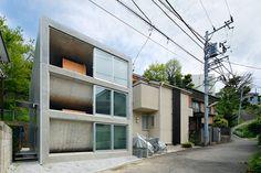 takeshi hosaka architects bend the concrete floors of byoubugaura - designboom | architecture & design magazine :)