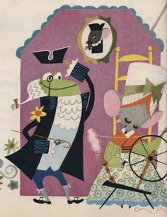 Mary Blair is an incredible illustrator who worked for Disney and created concept art for Alice in Wonderland, Peter Pan and Cinderella! She was so unique for her time.
