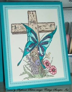 Easter Card for Sue by StephStamps1982 - Cards and Paper Crafts at Splitcoaststampers