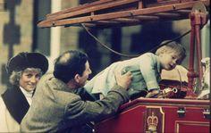 January 3, 1988: Prince Charles Princess Diana with Prince Harry at a photo-call at Sandringham.