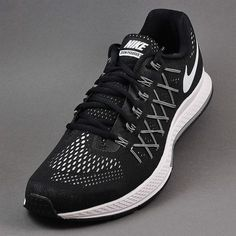 watch 9756f 2092c Nike Air Zoom Pegasus 32 Black White Platinum 749340-001
