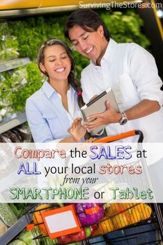 Must-have app for comparing sales between different stores in your area!  You can see the sales (and any coupons to go with those sales) for just about any store in your area.  This app will change the way you shop for groceries!