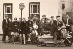 The British Mod style emerged from a desire among British youth to break away from the stiffness of the 50's and uncouth look of the teddy-b...