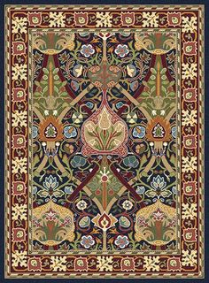 ¤ Wimbledon carpet by William Morris and John Henry Dearle