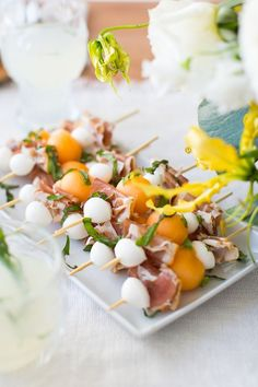 Click here to see our full daisy-inspired spring brunch! *photography by Jared Smith ...read the rest of the story here The post Prosciutto & Melon Skewers appeared first on Camille Styles.