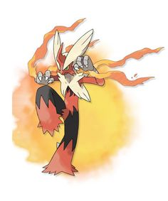 Mega Blaziken - With its high attack and the Speed Boost Ability, Mega Blaziken will become a truly awe-inspiring opponent!