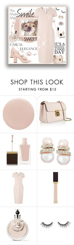 """""""That Smile"""" by leanne-laviolette ❤ liked on Polyvore featuring Tom Ford, Chloé, Belpearl, Harry Winston, L.K.Bennett, Valentino, tarte, Miu Miu, valentino and miumiu"""