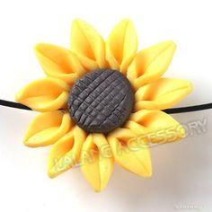 Polymer Clay Sunflower | 1000x1000.jpg