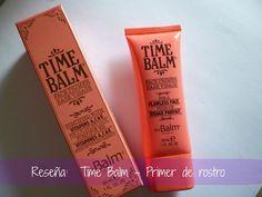 La Avenida A: Reseña: Time Balm - Primer de rostro de The Balm