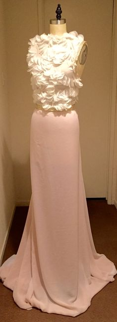 Couture dress. Ruben Vargas
