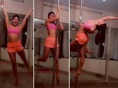 If youre already following the social media queen bee Jacqueline Fernandez you know what a goof ball this diva is. Jacquelines social media handles are filled with her weird pictures some crazy boomerang and now a pole dance video.  Well yes the diva just last night posted a video of her doing pole dance. While Jacqueline was a sheer hotness as she did the pole dance we guess she is learning it too because shed tagged a pole dance instructor to her video.  While we are still not sure about…