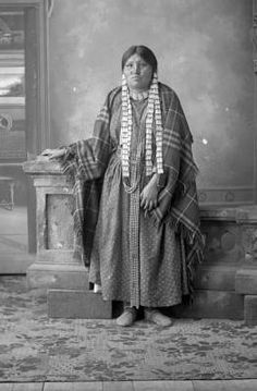 Unidentified Crow woman