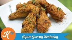 Resep Ayam Goreng Kentucky (Kentucky Fried Chicken Recipe Video)   PASTY IVO