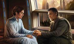 Leia and Bail Organa