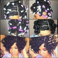 Twist out with per rods