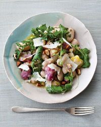 i'd probably use some can beans here at altitude, ingredients are interesting, red miso, arugula, parm, almonds..