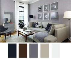 Grey Walls Cream Couch White Trim By Rowena Scandinavian Living Room With From Createcph