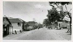 Straatbeeld in Batoe, Malang circa 1936.
