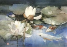 Cheng-Khee Chee - water lilies