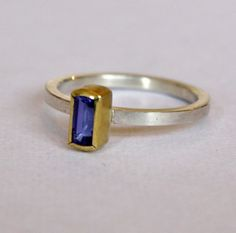Purple Tanzanite Ring by Sam Woehrmann: http://www.moderneden.com/collections/all-collections/products/purple-tanzanite-ring