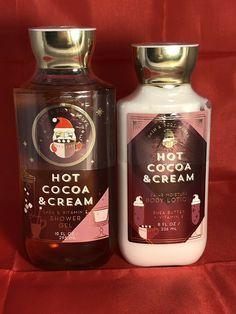 Bath & Body Works 8 Oz Hot Cocoa and Cream Ultra Shea Body Cream for sale online Bath Body Works, Bath N Body, Bath And Body Works Perfume, Ultra Shea Body Cream, Bath And Bodyworks, Smell Good, Body Lotion, Body Care, Shampoo