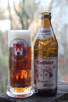 Vollbier der Brauerei Meister aus Unterzaunsbach www.meisterbräu.de www.neubierig.de