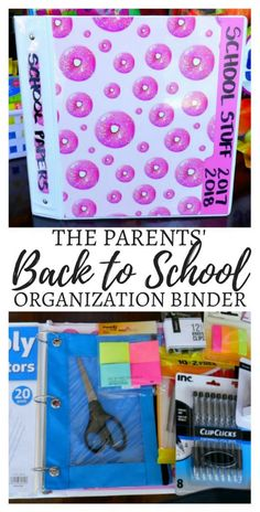 The Parents' Back to School Organization Binder #ad #doingthe99 #99yourschoolyear @99only