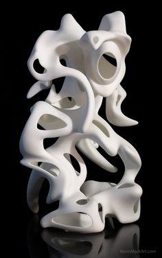3D Printed Sculptures - Kevin Mack Art