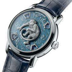 Vacheron Constantin Year of the Monkey Metiers d Art La Legende du Zodiaque 86073/000P-8972 platinum