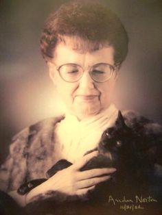 Andre Norton (1912-2005) - My hero.  She was one of the best science fiction pulp authors of her time.