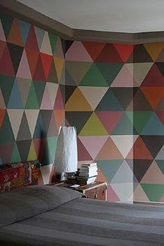 Minakani Lab Mosaic Wallpaper
